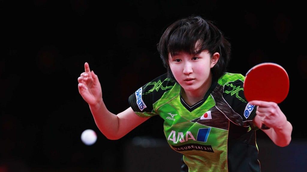 Hina Hayata luôn có sự điềm tĩnh trong thi đấu